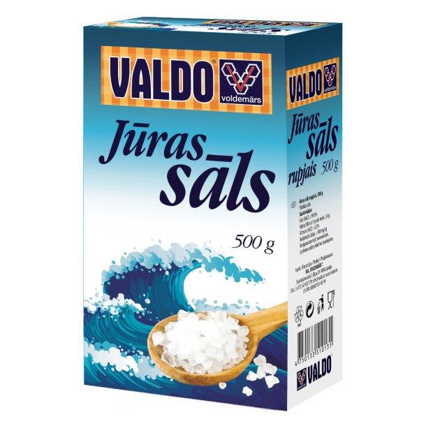 VALDO Sjøsalt, 500g