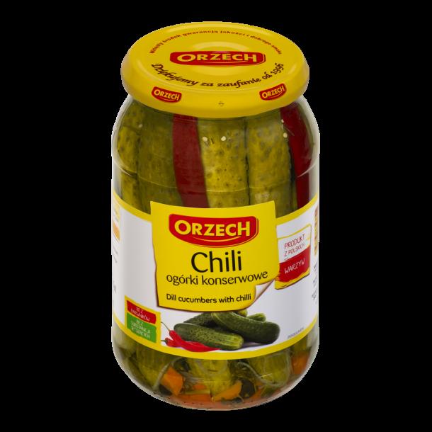 Agurker, hermetisert chili, 830g