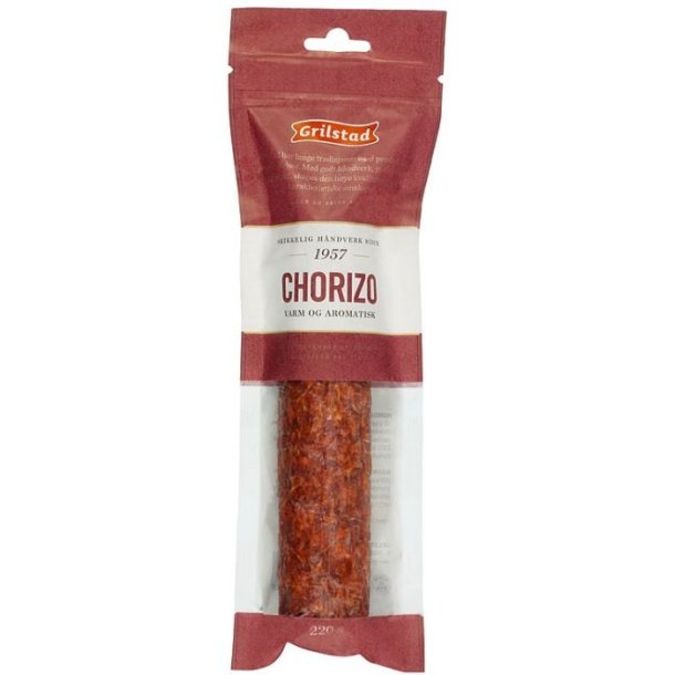 Grilstad Chorizo hel, 220g