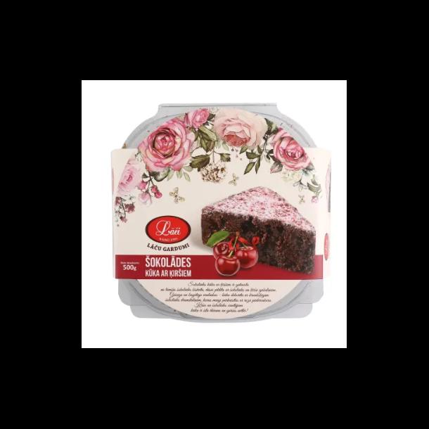 Kirsebærsjokoladekake, 500g