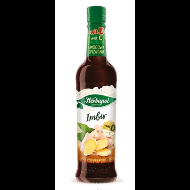 Herbapol Ingefær sirup, 420ml