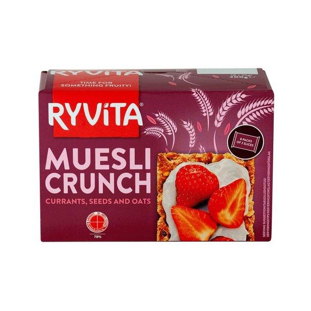 Ryvita Muesli Crunch Knekkebrød, 200g