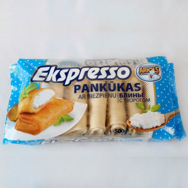 Pannekaker med cottage cheese Ariols, 500g