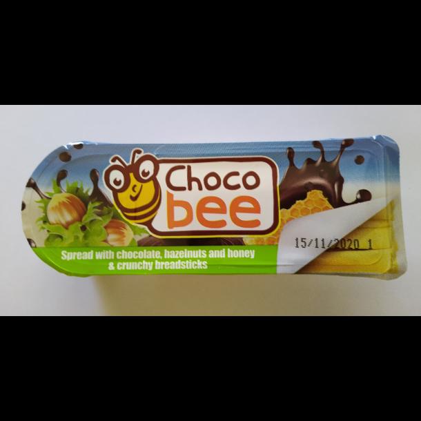 Sjokoladepålegg med hasselnøtter og honning & crunchy brødpinner, 25g
