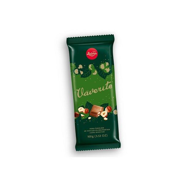"LAIMA ""Vaverite"" melkesjokolade, 100g"