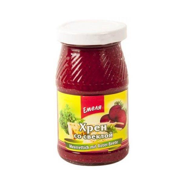Emela Pepperrot med rødbeter, 180g