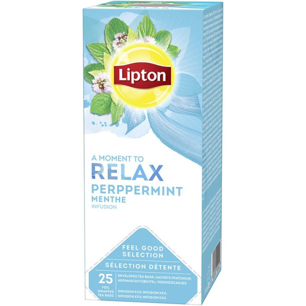 Lipton Relax Peppermint te, 25 pos