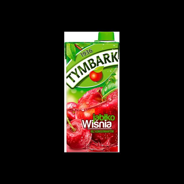 Tymbark Kirsebær eple drikke, 1l