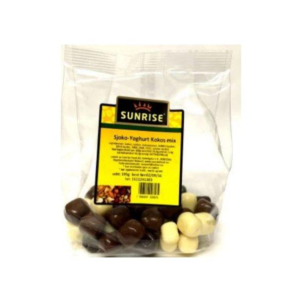 KOKOS Mix yoghurt / sjokolade Sunrise, 195g