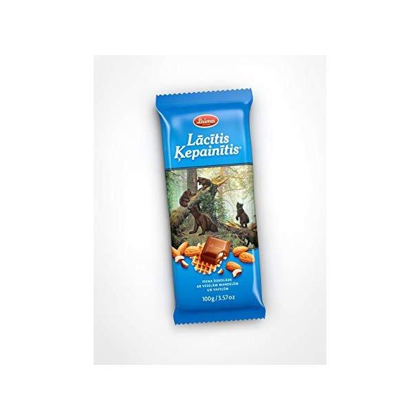 """LAIMA """"Lacitis kepainitis"""" Melkesjokolade, 100g"""
