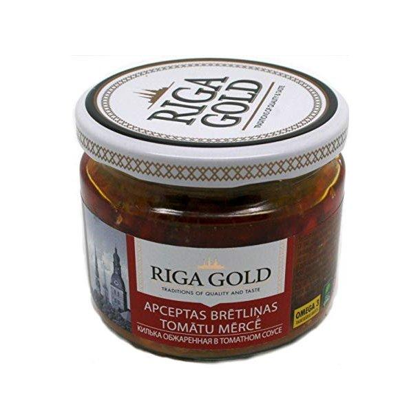 Røkte sardiner i tomat saus RIGA GOLD, 250g