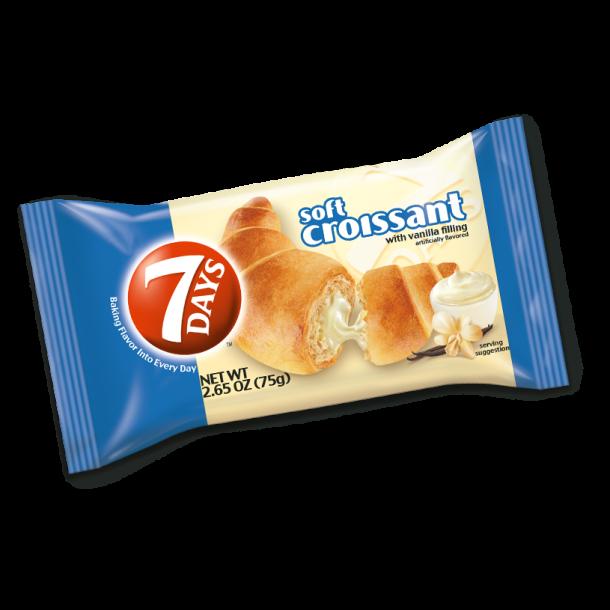 7 days Croissant med vanilje smak, 110 g