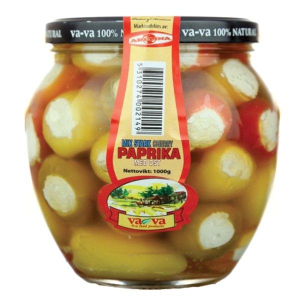 Paprika cherry mix med ost 100% Naturell, 550g
