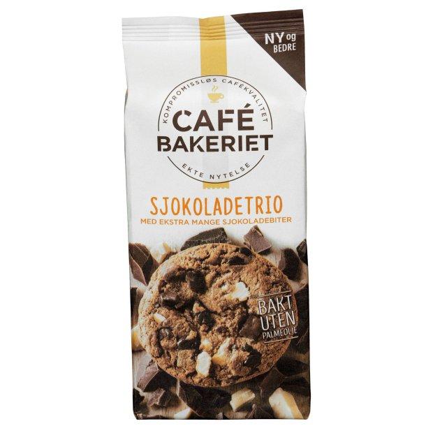 Cafe Bakeriet Sjokoladetrio 200g