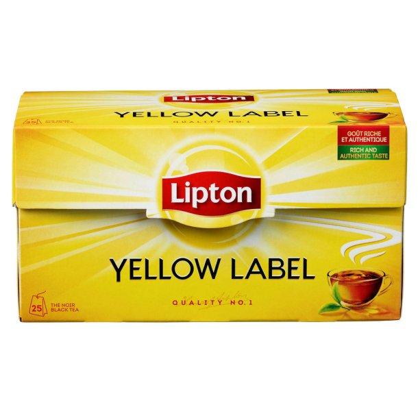 Lipton Yellow Label Tea, 25 pos