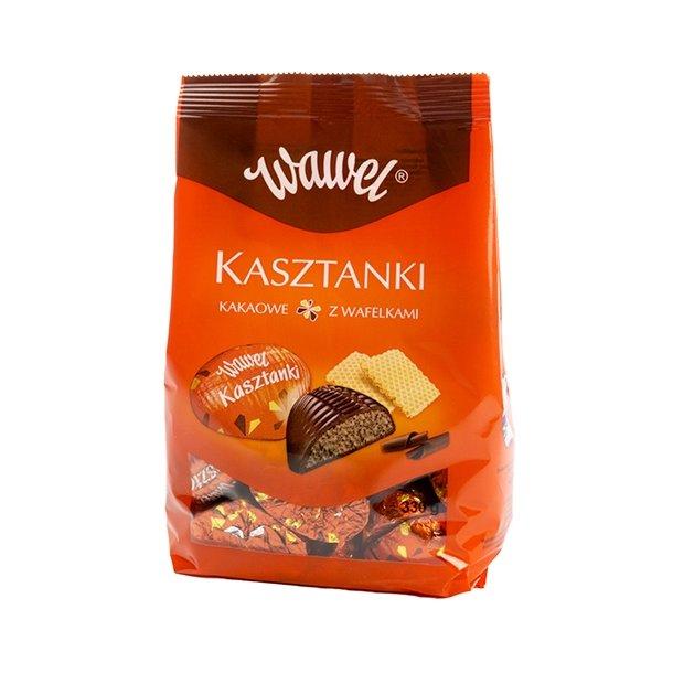 """Sjokoladekonfekter """"Kasztanki"""" Wawel, 330g"""
