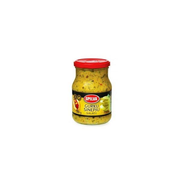 Agurk-Sennep Salat Spilva, 390g