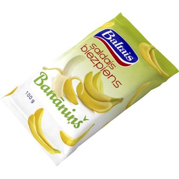 Baltais Søt Ostemasse Banan, 100g