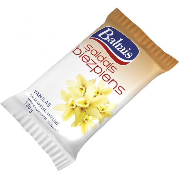 Søt ostemasse vanilje Baltais, 180g
