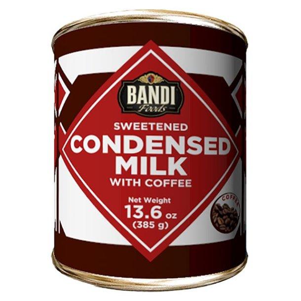 Bandi Kondensert melk med kaffe, 385g