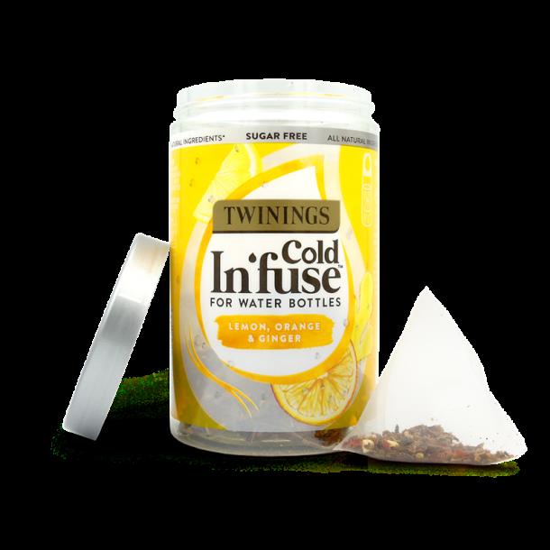 Cold Tea Lemon, Orange & Ginger Twinings, 30g / 12pus