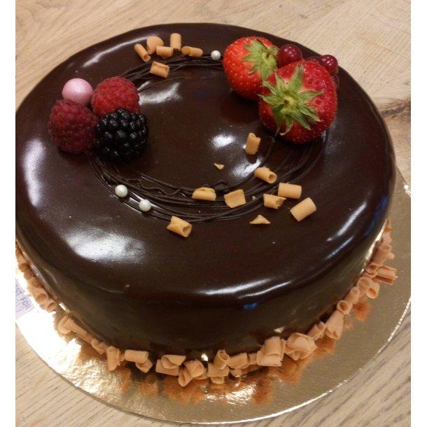 Mørk Sjokolademoussé kake 70%, fra 8 personer