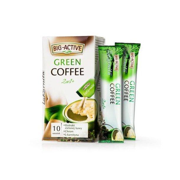 Green Kaffe Big-Active, 120g (10x12g)