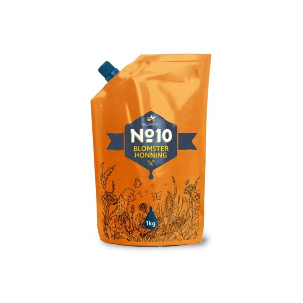 Blomster Honning No 10, 1000g