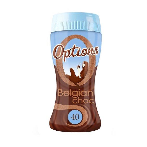 Sjokoladedrikk Belgian 220g Optio