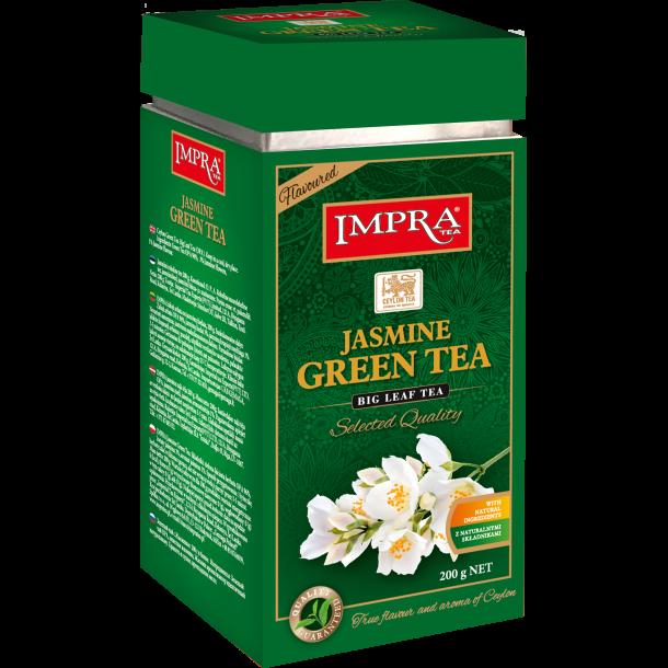Jasmin Grønn Te IMPRA i metallboks, 200g