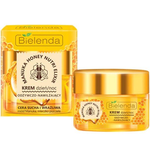 Manuka Honey Nourishing Face Cream Dag / Natt Bielenda, 50ml