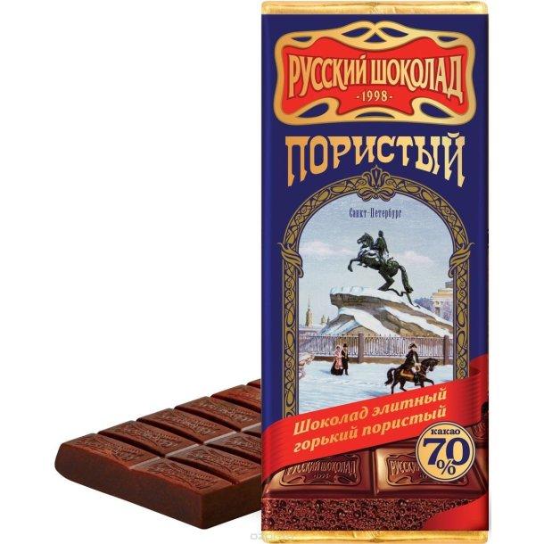 Mørk Luftet Elite Sjokolade Sankt-Peterburg, 90g