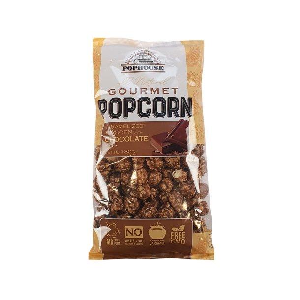Karamellisert Popcorn med sjokolade, 180g