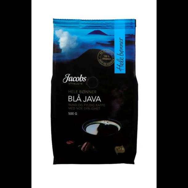 Jacobs Utvalgte Kaffe BLÅ JAVA hel 500g