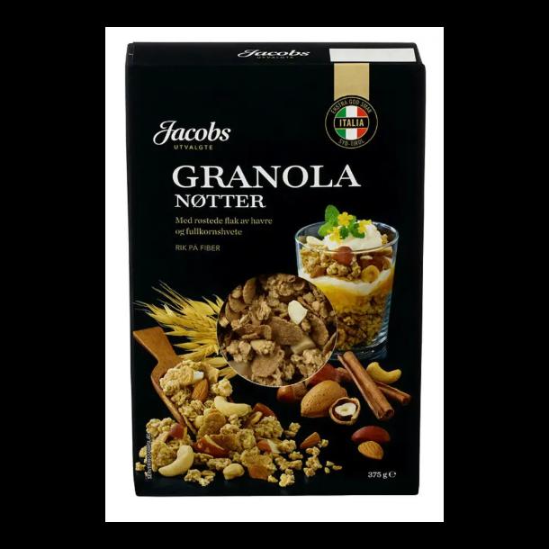 Jacobs Granola Nøtter, 375g