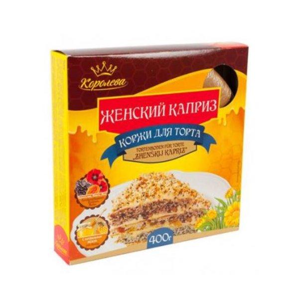 """Kakebunn til kake """"Zhenskij kapriz"""", 400g"""