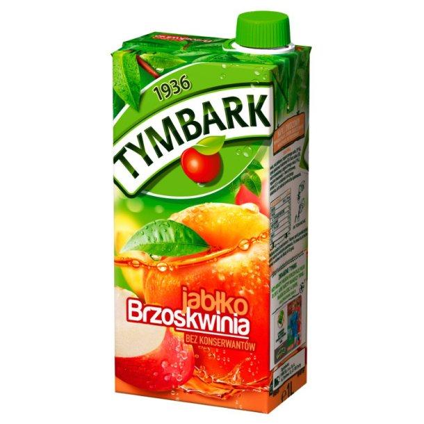 Tymbark Eple & Fersken Juice, 1l