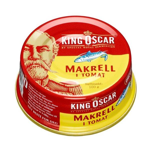 Makrell i Tomat King Oscar, 100g