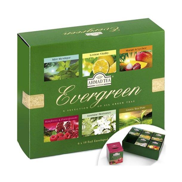 Ahmad Tea Evergreen ,120g (60x2g)