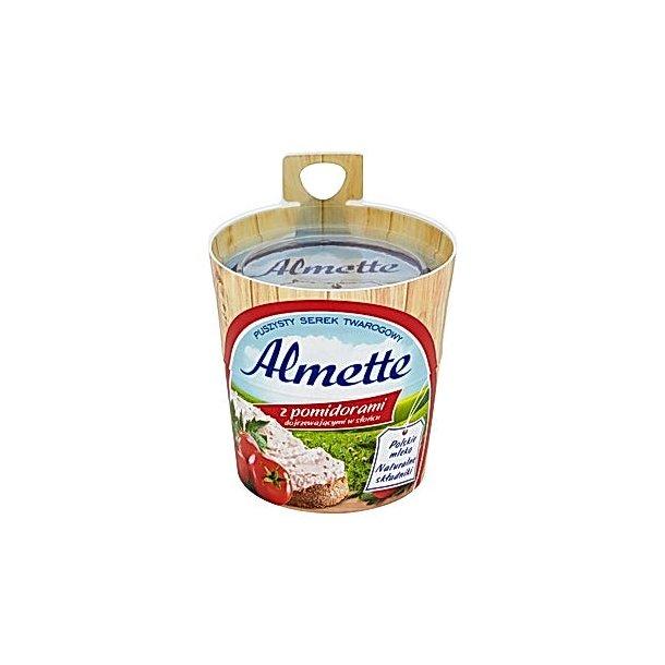 Almette med tomater luftig cottage cheese, 150 g