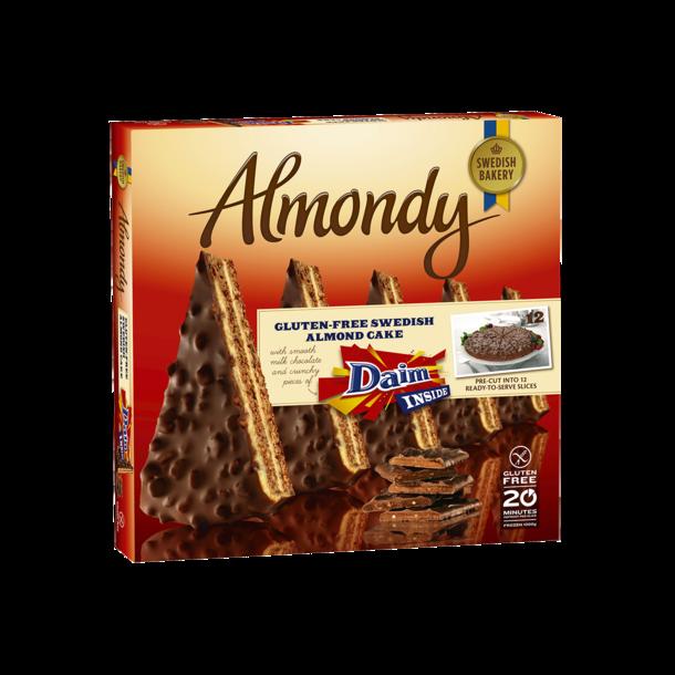 Almondy Mandelkake med Daim, frossen 1000g