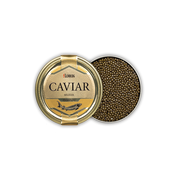 Caviar Malassol Amur Royal Lemberg, 50g