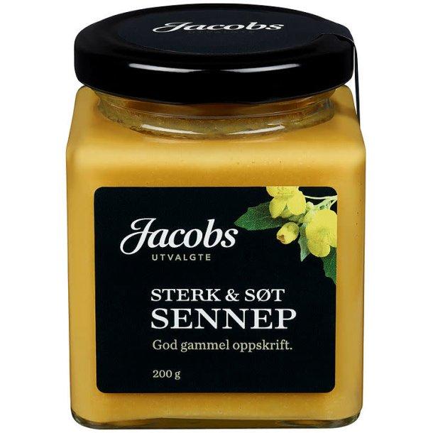 Jacobs Sterk & Sot Sennep, 200g