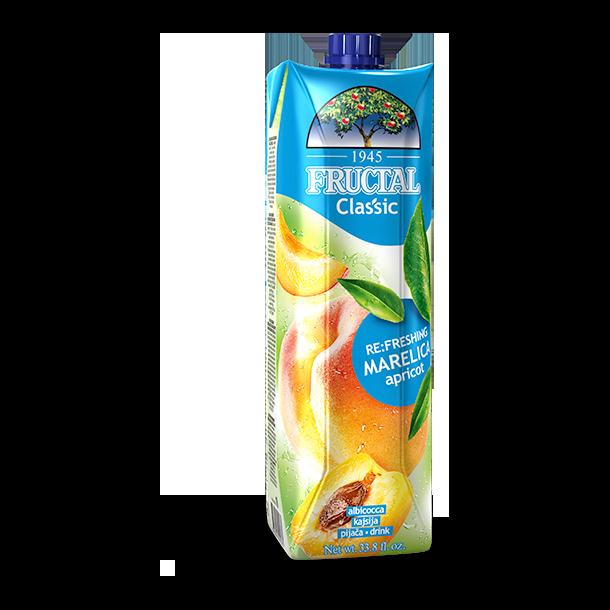 Aprikos juice Fructal, 1l