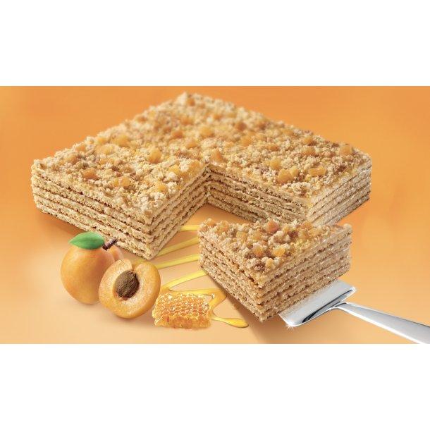 Honningkake med aprikoser MARLENKA, 800g