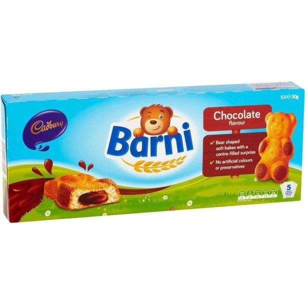 Svampekake BARNI med sjokoladefyll, 150g (5x30g)