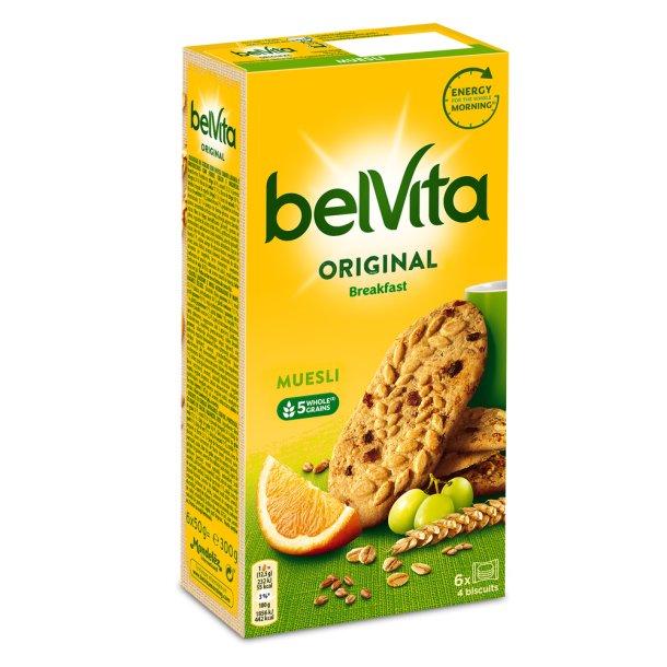 Kjeks Original Brekfast Muesli BelVita, 300g