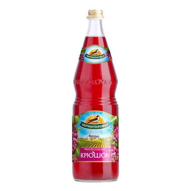 """Drink Lemonade """"Krushon"""" Chernogolovka, 1l"""