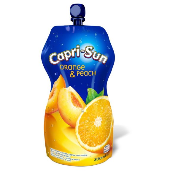 Capri-Sun Orange & Peach, 0,33l