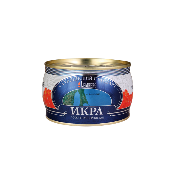 "Salmon Caviar ""Sakhalin Standard"" Lemberg, 400g"